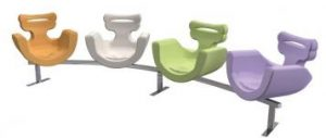 Breastfeeding Chair for Mothers Reception Seating 3