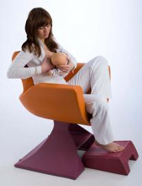 Breastfeeding Chair for Mothers Reception Seating
