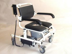 ERGO Electric assist Bath, Shower and Commode all-in-one Chair 230kg Lift