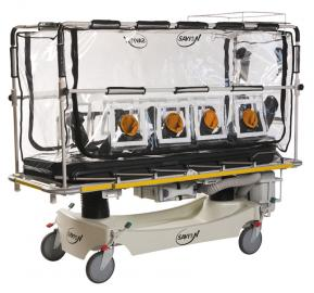 Patient Isolation Stretcher
