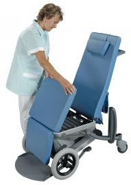 Sella Chair Bed Patient Transfer Function