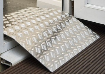 Aluminium Threshold Ramps